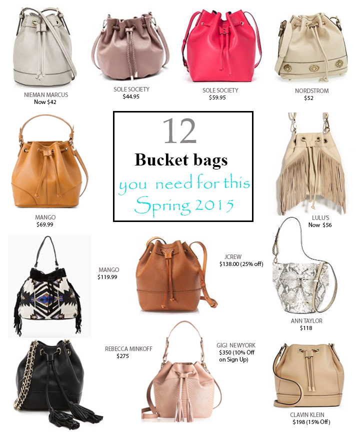 12 best bucket bags of 2015