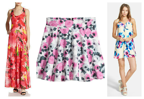bold floral's