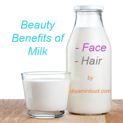 Milk Beauty Recipes for glowing skin and healthy hair