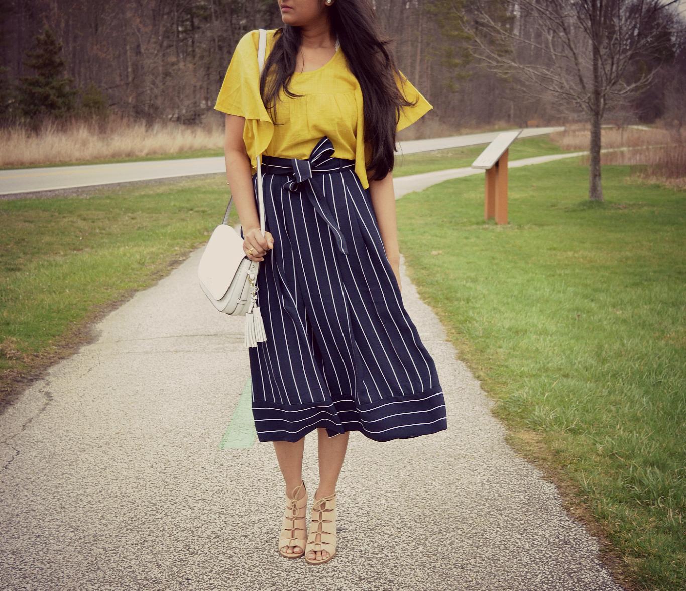 banana-belted-midi-skirt
