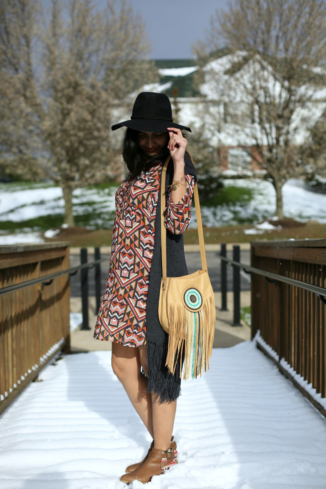 2-boho-ways-to-style-your-shirt-dress