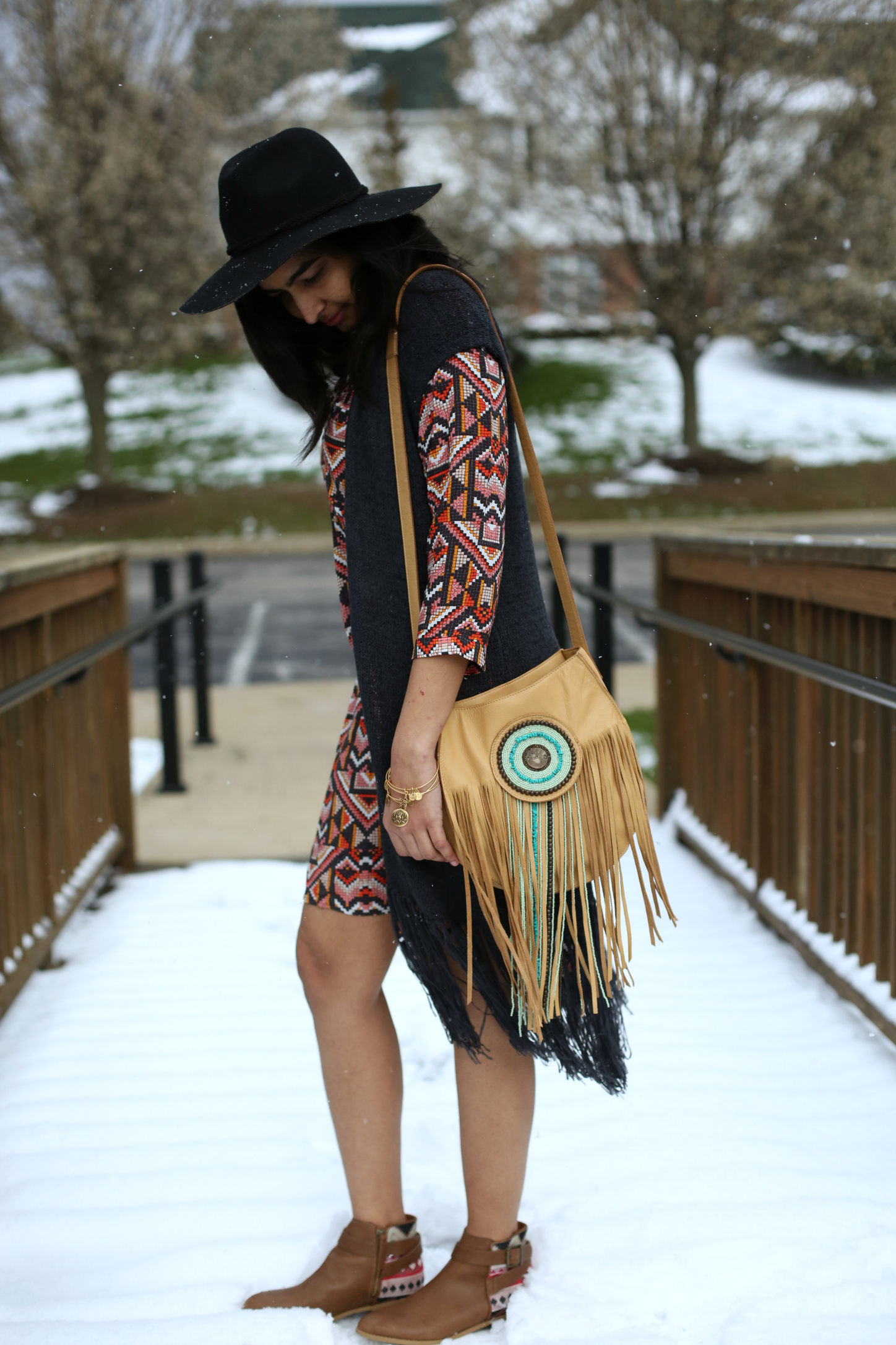 2-ways-to-style-your-shirt-dress-boho-inspired