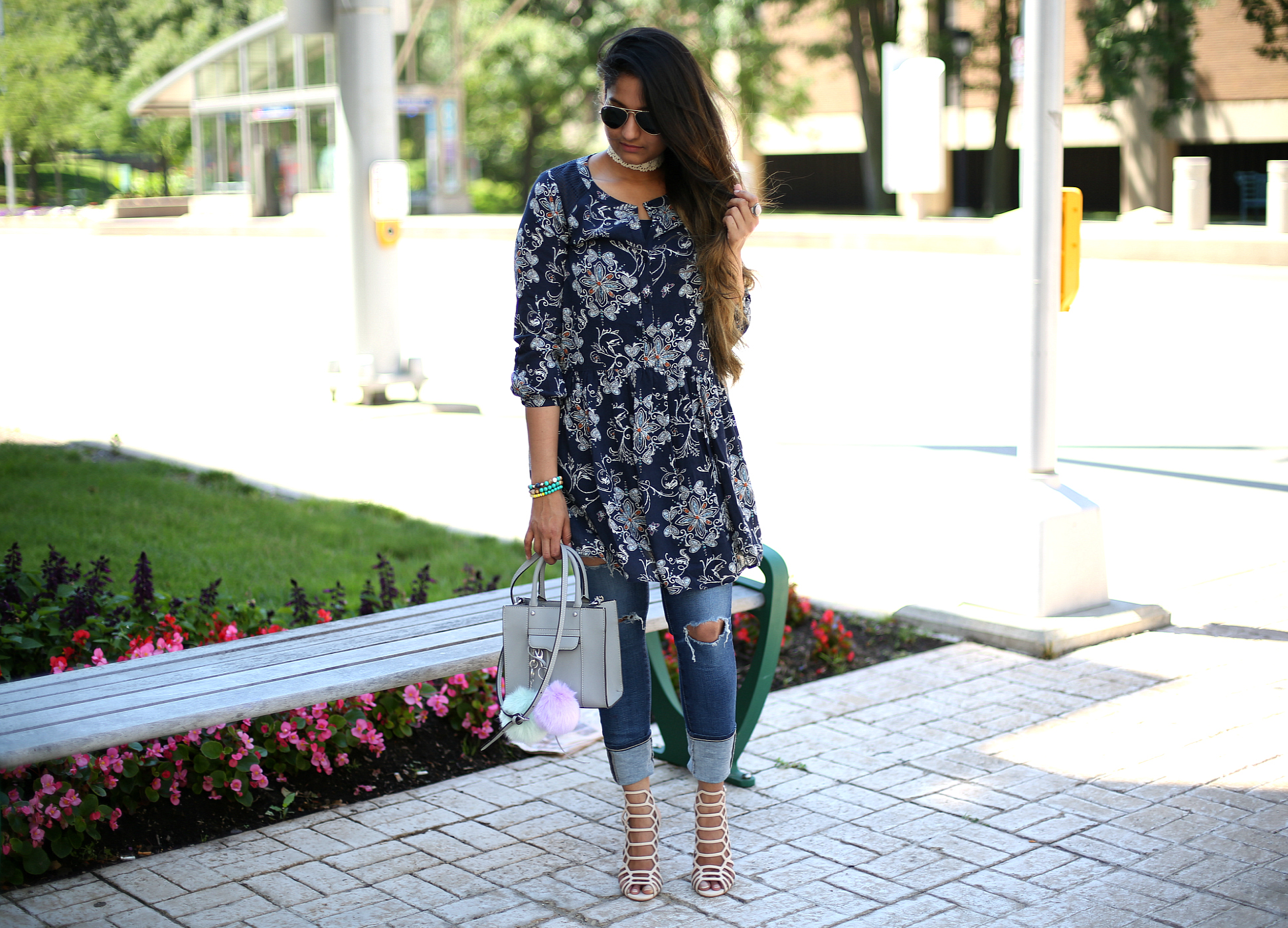 Hinge-Crochet-Lace-Trim-Dress