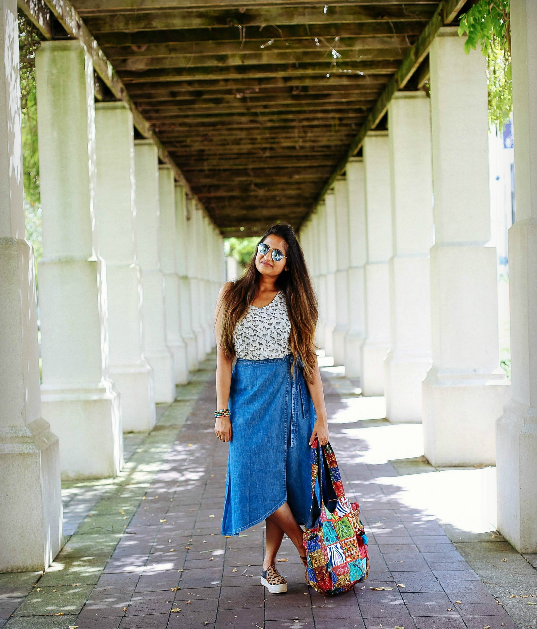 indian-fusion-denim-skirt-outfit-