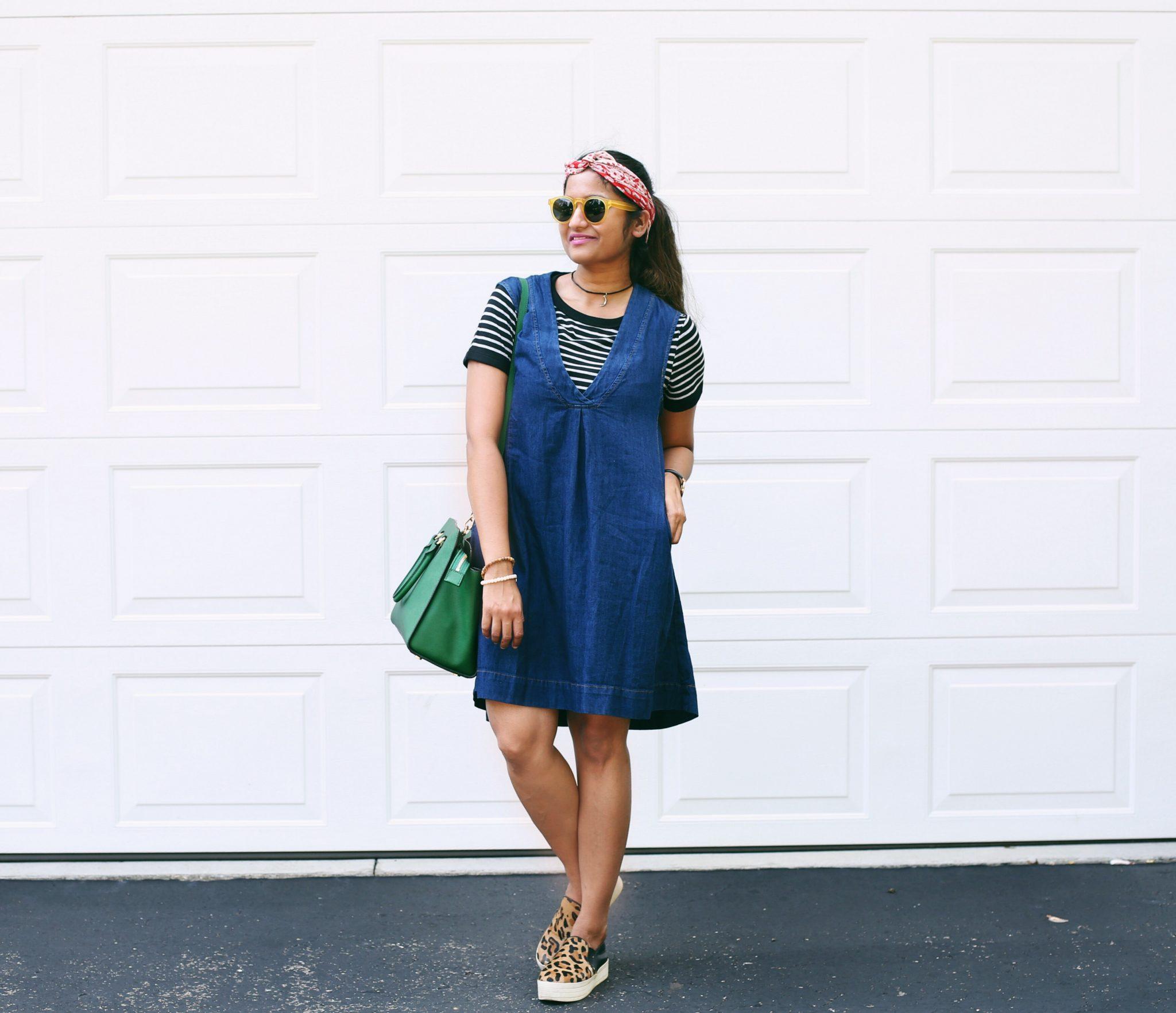Denim-pinafore-dress