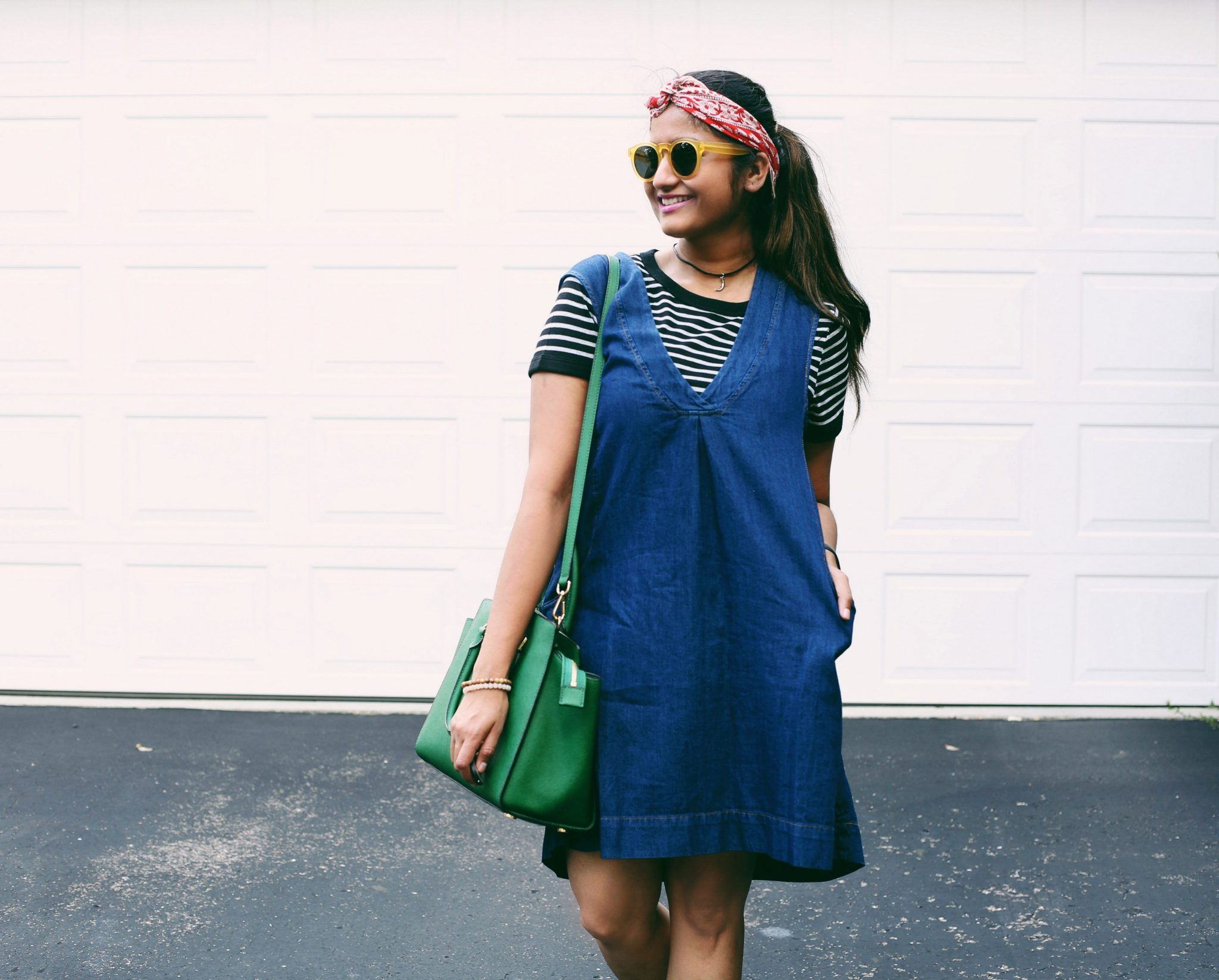 layered-denim-dress