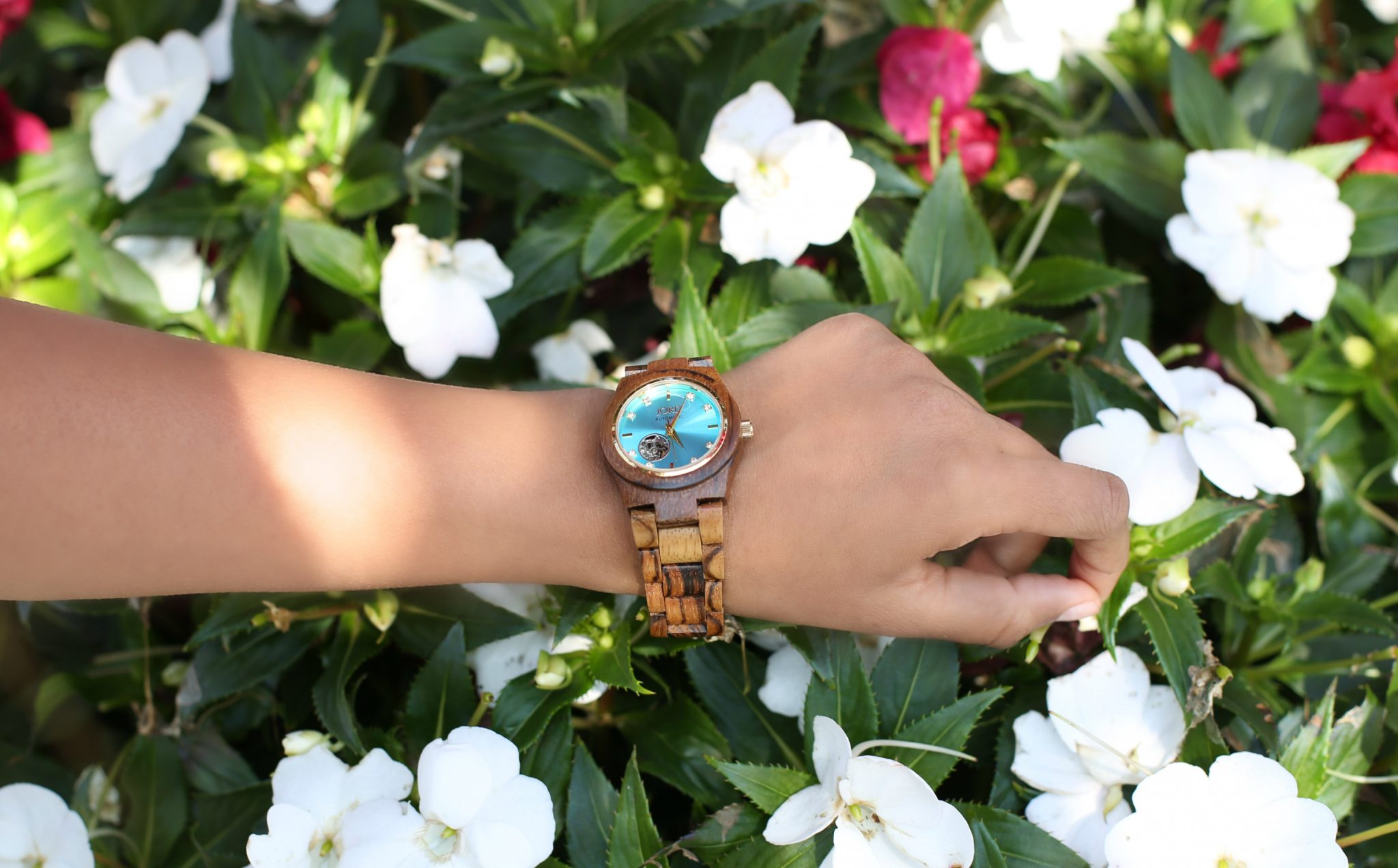 jord-cora-zebrawood-turquoise-watch