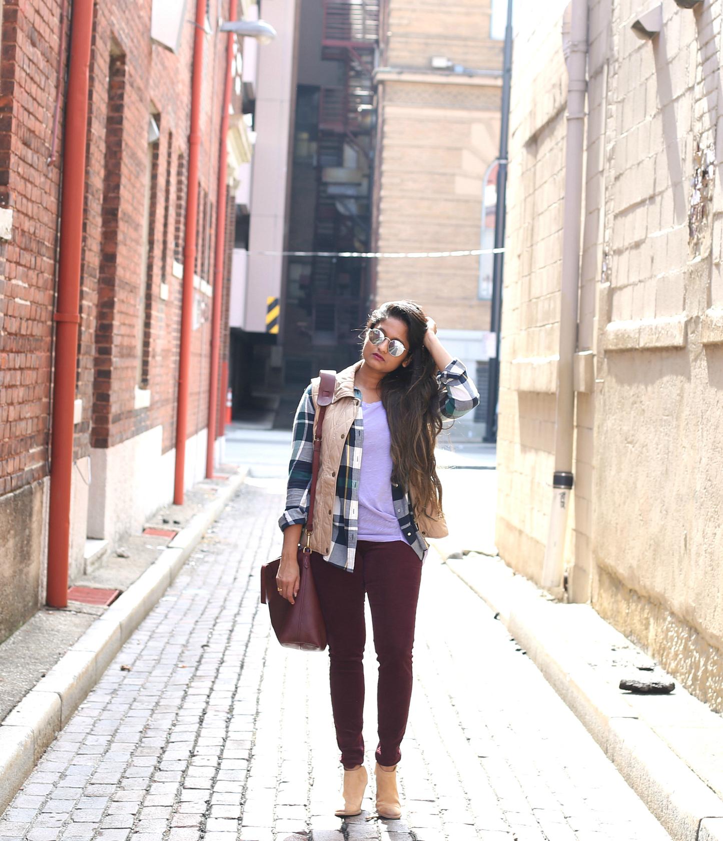 purple-green-khaki-fall-outfit