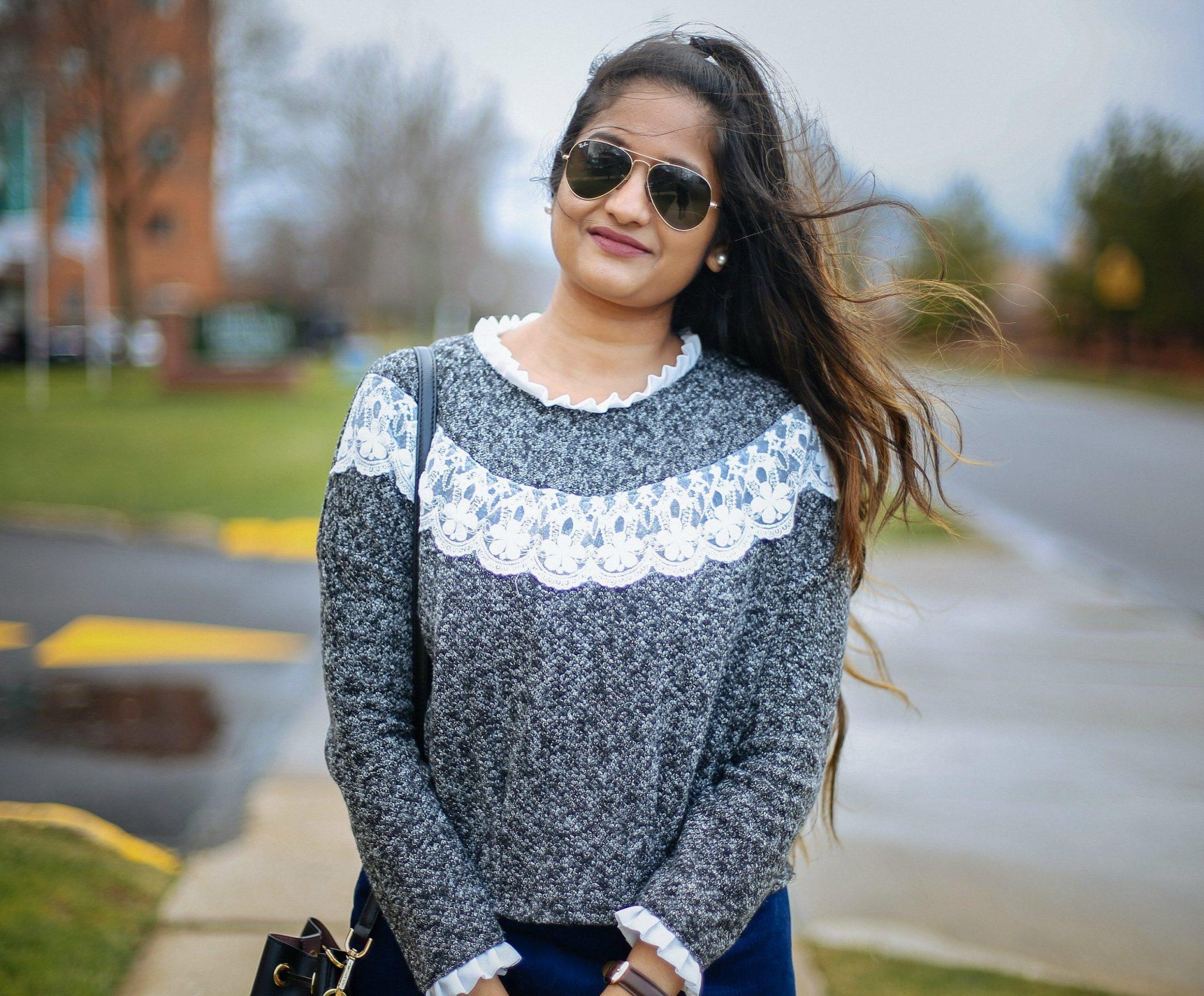 romwe-ruffle-sleeve-sweatshirt-1