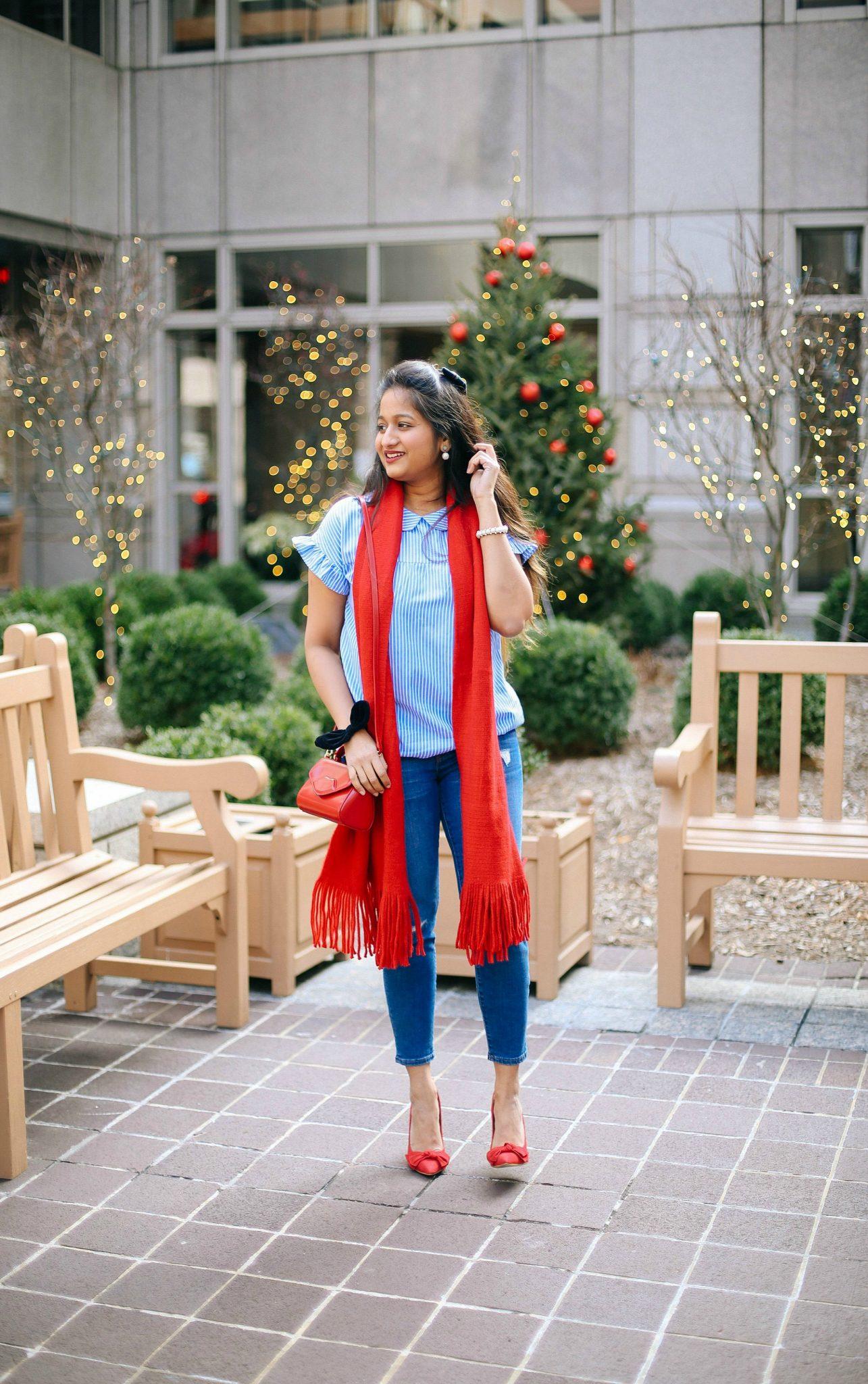shein-blue-striped-peter-pan-collar-short-sleeve-blouse