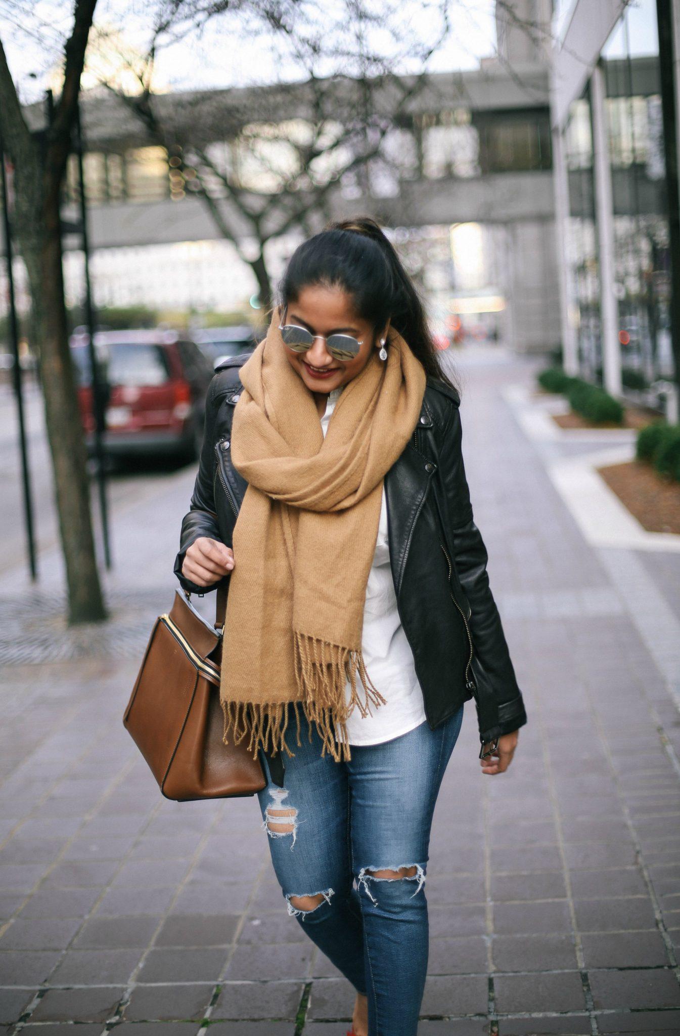 topshop-camel-fringe-scarf