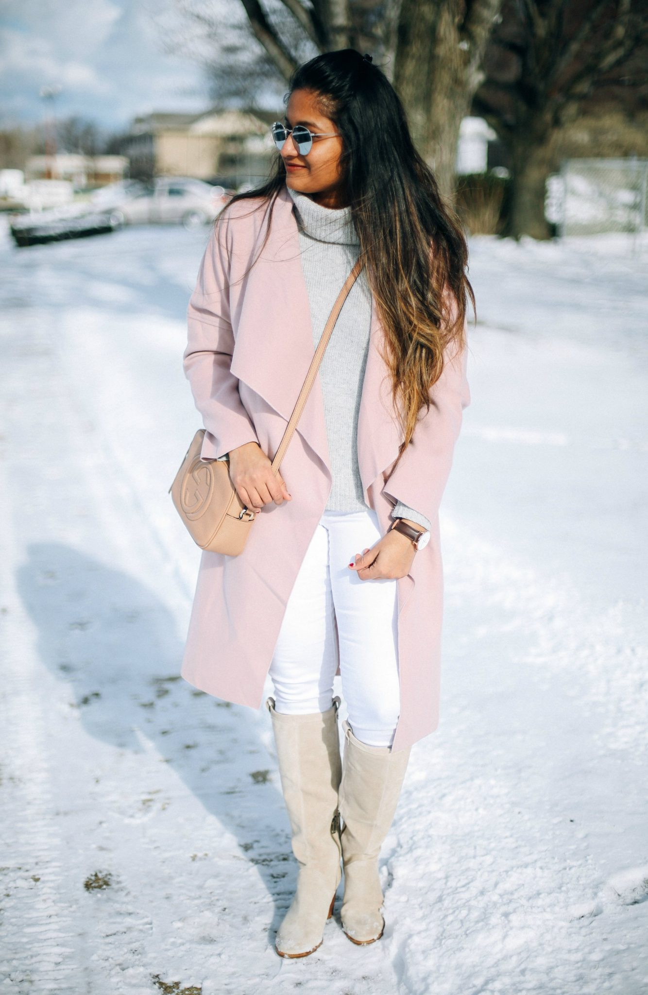 shein-pink-drape-collar-wrap-coat