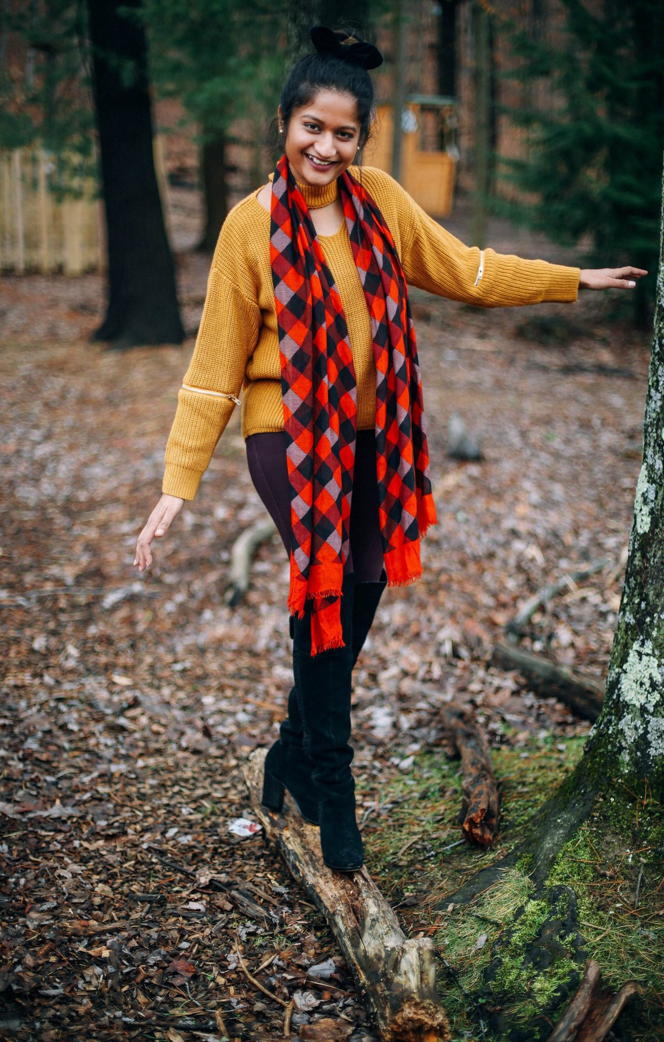 veera-bradley-plaid-silk-scarf