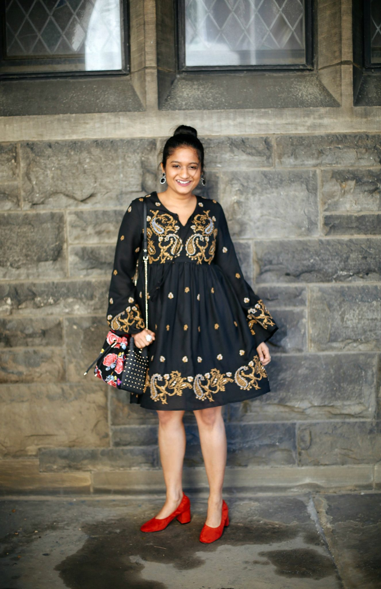 Paisley-and-flora-print-outfits