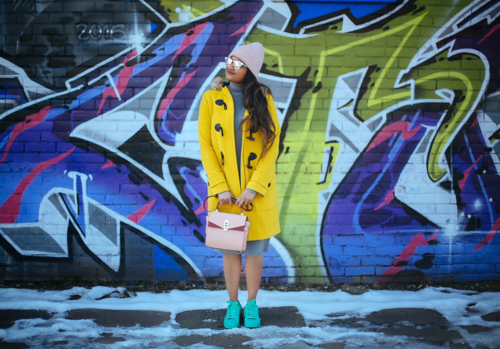 Spring colorful outfit ideas dreaming loud for Boden yellow bag
