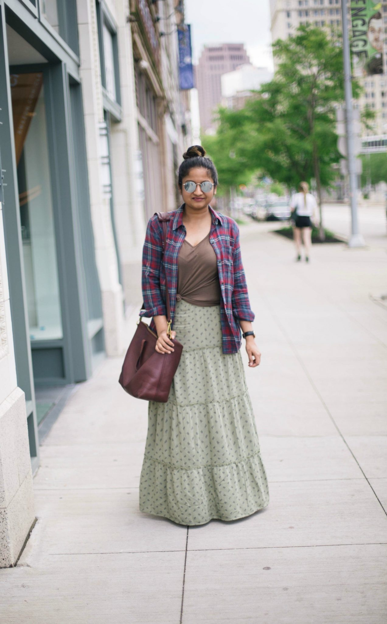 4-casual-ways-to-wear-a-target-maxi-skirt - Maxi Skirts For Petites featured by popular Ohio modest fashion blogger, Dreaming Loud