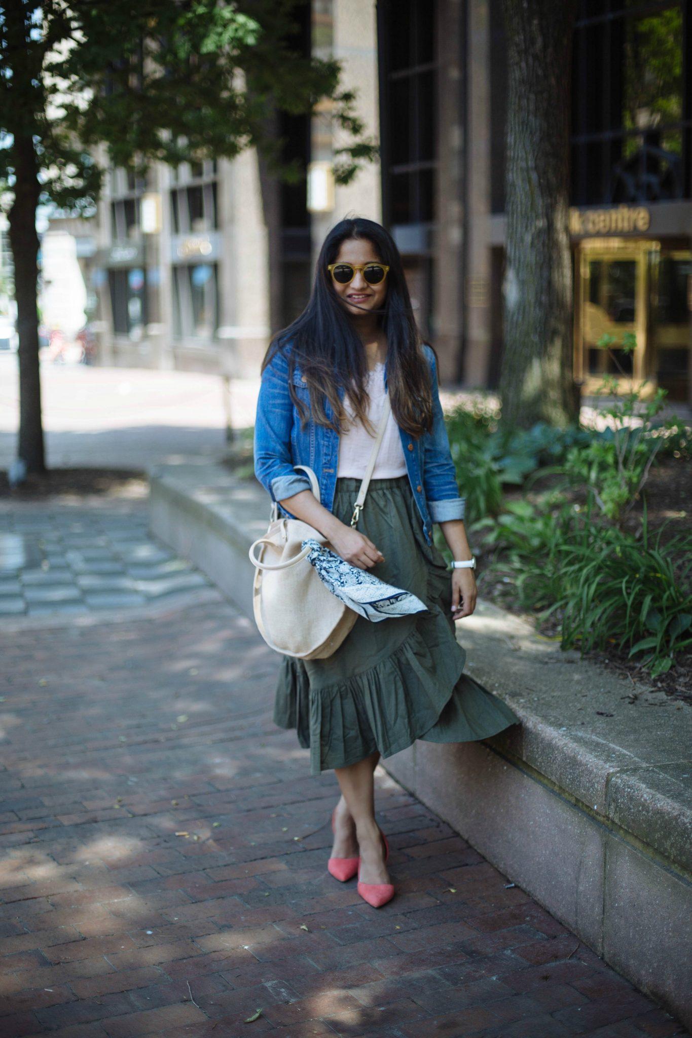 Summer-trends-2017-ruffle-skirt